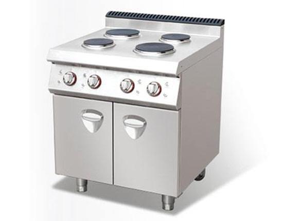 四头电煮食炉连柜座