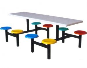 八座不锈钢餐桌