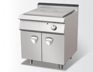 法式燃气铁板炉连座柜